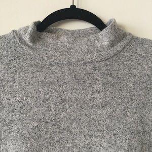 Lou & Grey Dresses - Lou & Grey Gray Dolman Sleeve Cocoon Midi Dress